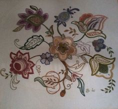 Another one of my Jacobian Embroidery