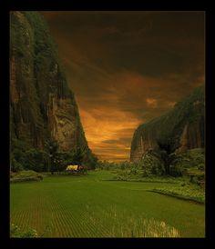 Harau Valley - A photo by Rifa at PhotoClassical.com