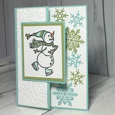 Stampin' Up! Spirited Snowman Stamp Set and Blizzard Thinlit Dies