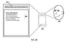 #Internet #buscador #google Nueva patente de Google: usar la cámara del móvil para ver nuestra expresión al buscar en Internet