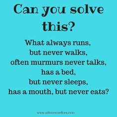 Riddles with answers - Silversurfers Hard Riddles With Answers, What Am I Riddles, Funny Riddles, Funny Texts, Funny Jokes, Tricky Questions, This Or That Questions, Solving A Rubix Cube, English Riddles