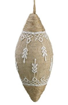 ALLSTATE Burlap Finial Ornament available at #Nordstrom