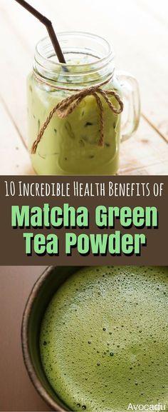 Diet Plans To Lose Weight : 10 Incredible Health Benefits of Matcha Green Tea Powder Avocadu Matcha Green Tea Benefits, Matcha Green Tea Powder, Coconut Health Benefits, Best Diet Plan, Stop Eating, Clean Eating, Best Diets, Healthy Drinks, Healthy Foods