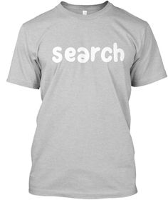 Search Light Steel T-Shirt Front