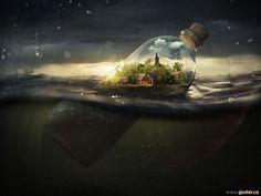 Gerçek ile Fantezi Dünyasını Birleştiren Kafa Açıcı 21 Foto-Manipülasyon