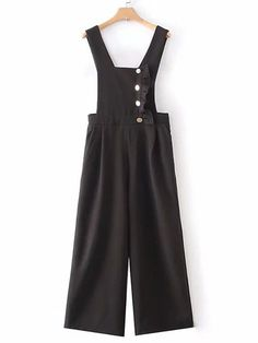 Newchic - Fashion Chic Clothes Online, Discover The Latest Fashion Trends Mobile Cute Teen Outfits, Outfits For Teens, Chic Outfits, Long Overalls, Ruffle Trim, Cute Tops, Latest Fashion Trends, Wide Leg, Kids Fashion