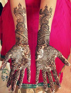 Shivani's bridal henna 2013 © NJ's Unique Henna Art