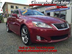 Cars for Sale: Used 2010 Lexus IS 250 in , MORGANVILLE NJ: 07751 Details - Sedan…