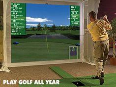 Golf Simulator and Swing Analyzer by Par2Pro - P3ProSwing Canada