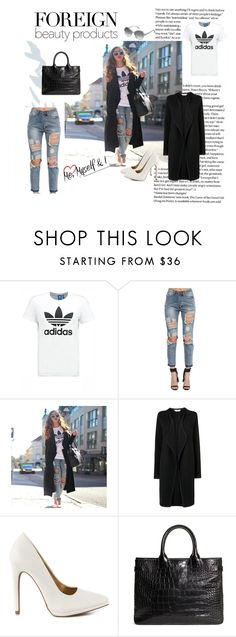 Casual by sadel-alic1 on Polyvore featuring L.K.Bennett, adidas Originals, Qupid, Brooks Brothers, Marc Jacobs, women's clothing, women's fashion, women, female and woman