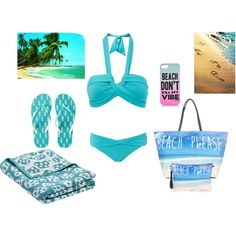 Beach day, to get wet! by andrealola on Polyvore featuring moda, Seafolly, Aéropostale, Juicy Couture, HAY and FOOTPRINTS