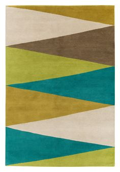 Harlequin Green by Jonathan Adler for The Rug Company