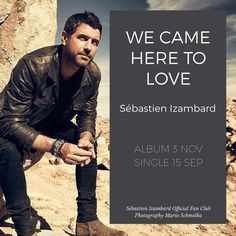 WE CAME HERE TO LOVE - Sébastien Izambard @sebdivo solo album out Nov 3 1st single Sep 15. We will be collecting all official and confirmed info for fans on wecameheretolove.sebastienizambard.com (clickable link in bio). SPREAD THE WORD EVERYONE (Photo @marioschmolka ) ---------- #wecameheretolove #sebsoloalbum #ildivotour #ildivocruise #teamseb #sebdivo #sifcofficial #ildivofansforcharity #sebastien #izambard #sebastienizambard #ildivo #ildivoofficial #singer #band #musician #music…