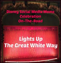 Disney Social Media Moms Celebration On-The-Road Lights Up The Great White Way | Disney Parks | New York City #DisneySMMC
