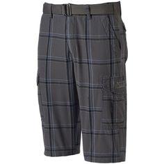 Men's Unionbay Messenger Shorts ($25) ❤ liked on Polyvore featuring men's fashion, men's clothing, men's shorts, red overfl, mens clothing, mens shorts, mens cotton shorts, mens red shorts and men's apparel