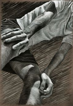Nice contour lines, composition angle and foreshortening ...