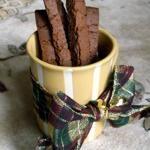 Vegan Gingerbread Biscotti