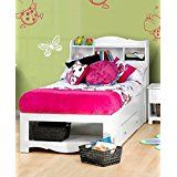 Dixie 2-Drawer Storage Bed with Bookcase Headboard Twin deals week