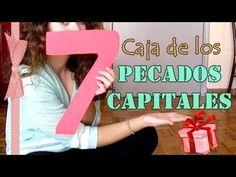 IDEA REGALO ♥ CAJA DE LOS 7 PECADOS CAPITALES ✔ CUMPLEAÑOS, ANIVERSARIO,...