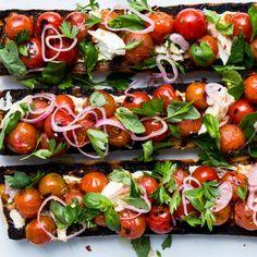 Charred Caprese Sandwich Recipe