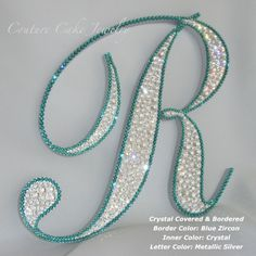 Gallery | Couture Cake Jewelry - Monogram Cake Toppers - Weddings, Anniversaries, Parties, Events