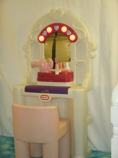 Little Tykes Vanity Set - http://www.buzzfeed.com/leonoraepstein/28-toys-from-your-childhood-that-are-now-worth-bank