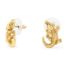 Darling aligator stud earrings...
