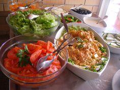 Refrescante, saudável, no almoço ou no jantar.