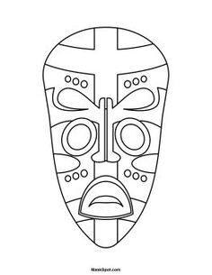 Stylist Inspiration Africa Coloring Pages Beautiful African Mask With African, African Art Projects, Drawings, Culture Art, Mask Drawing, Art, African Crafts, Masks Art, Africa Art