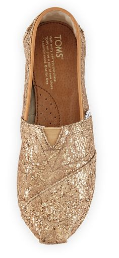 Rose Gold TOMS