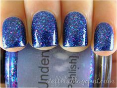 Pahlish Train Underwater.  I have this and totally love it, but of course, Steffles makes it look even MORE amazing!!