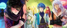 Personajes del juego de fantasía, Eldarya.