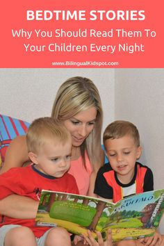 Why you should read bedtime stories to your kids every night! And books you can read to your kids over and over again that they will love!