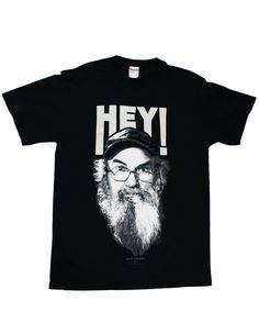 Duck Dynasty Hey!! Men's T-Shirt Price: $10.76 - $27.99 https://www.amazon.com/dp/B00BERTSR4/ref=as_li_ss_til?tag=howtobuild005-20=0=0=as4=B00BERTSR4=15MD40DQJQ0Y0XMS4ADP