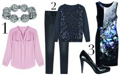party outfits for the apple shape | Apple shape partywear ideas