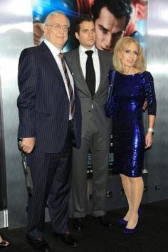 Henry Cavill With Mama & Papa Cavill. They need a gold medal for making such an amazing son.