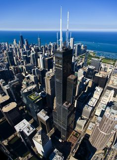 Willis Tower - [1,729 ft] - [108 Stories] - [Chicago, IL] - W. Wacker Dr.