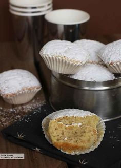 Marquesas. Receta de Navidad Pan Dulce, Sweet Recipes, Cake Recipes, Dessert Recipes, Cake Cookies, Cupcake Cakes, Hispanic Desserts, Individual Cakes, Muffins