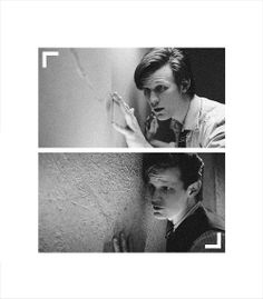 The first and last time the Doctor felt the crack in the wall.
