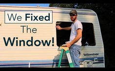 RV Water Damage Repair - How to reseal and reinstall an RV window. This video shows you how to fix a window leak by replacing the window seal. In the previous video, we show how we removed a leaking window that caused a lot of water damage in our class c motorhome.