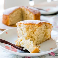 This incredibly easy, simple, one-bowl and no-mixer yogurt cake takes only 5 minutes to put together and the rest of the work is done by the oven!