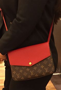 Louis Vuitton Twinset Crossbody. In Monogram   Red. Also comes in Mono w  92a6f96f4b2