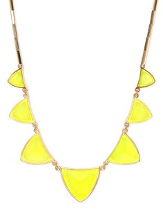 lemon triad necklace
