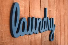 Laundry Sign, Laundry Room Decor by lucysletters123 on Etsy