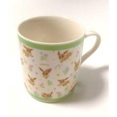 Pokemon Center 2013 Eevee With Flowers Ceramic Mug