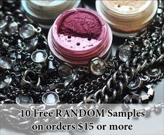 Only one more day to get 10 free eyeshadow samples! – Sweet Libertine Mineral Cosmetics LLC