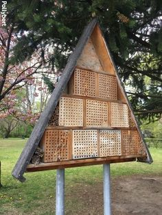 Insect Hotel, Vienna, Austria, Park, House Styles, Home Decor, Decoration Home, Room Decor, Parks