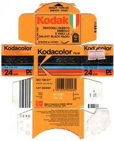 kodak film pack flattened
