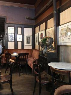 Café Hawelka in Vienna Austria Continental Europe, Vienna Austria, Patio, Outdoor Decor, Travelogue, Switzerland, Furniture, Germany, House