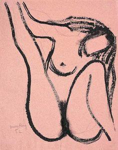 Man Ray, la vierge, 1952
